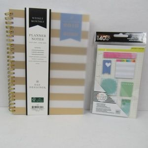 Day Designer Office - NWT Student Weekly/Monthly Planner